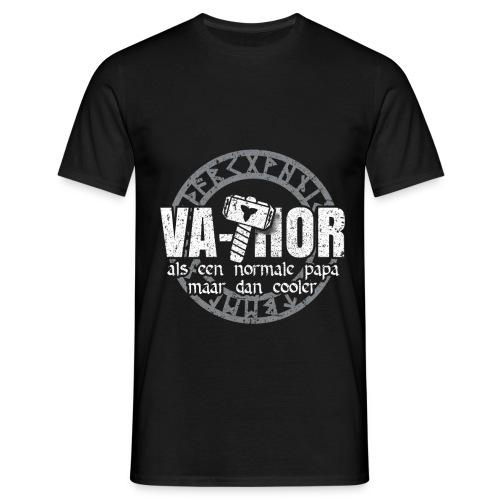 Vathor als een normale papa maar cooler vaderdag - Mannen T-shirt