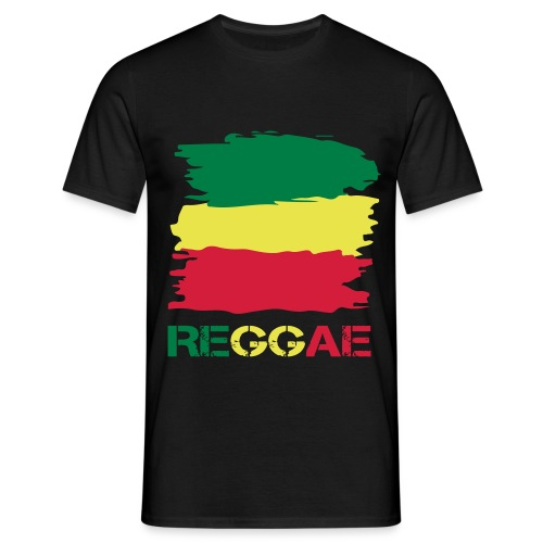 Reggae Fahne - Männer T-Shirt