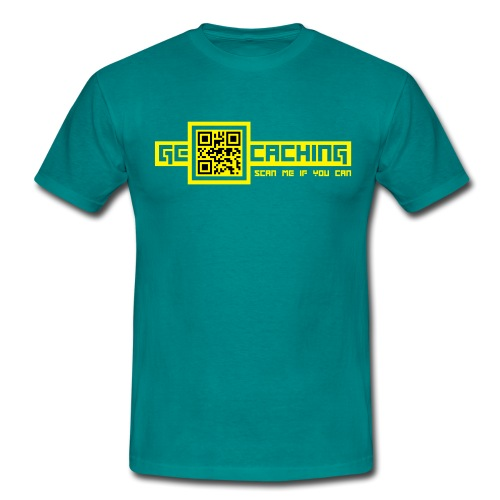 QRCode - 2colors - 2011 - Männer T-Shirt