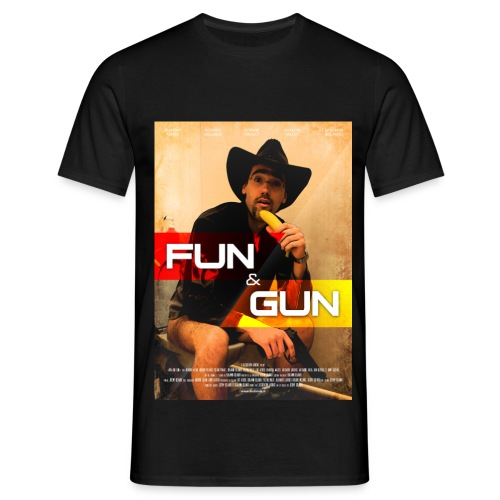 affiche Fun And Gun - T-shirt Homme