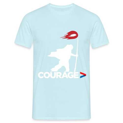 Walk With Courage - Men's T-Shirt