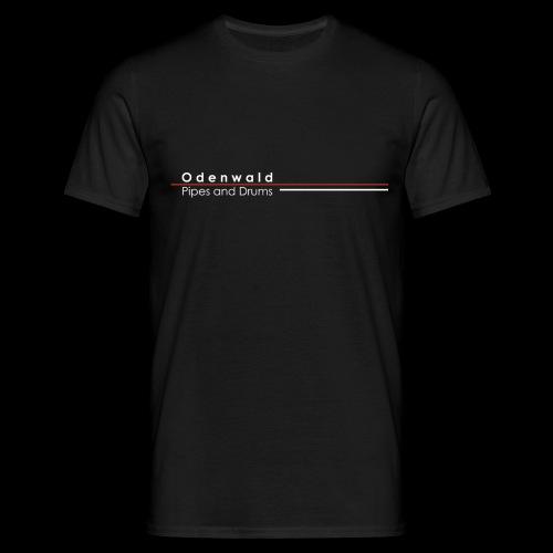 Odewald Pipes and Drums Logo transparenter - Männer T-Shirt