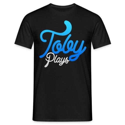 TobyPlays LysTekst - T-skjorte for menn