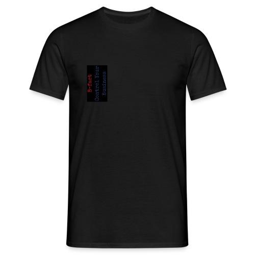 B fact Control Your Business 5 ZWART 2 - Mannen T-shirt
