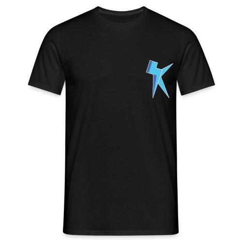 K Vlogs Logo - Mannen T-shirt