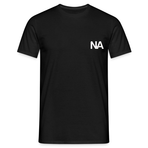 NA Logo white - Men's T-Shirt