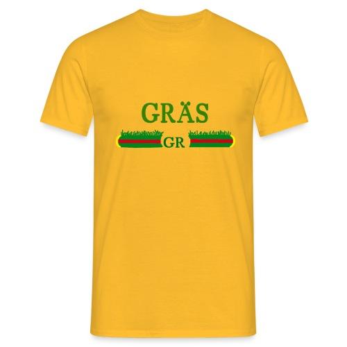 gräs g####i - T-shirt herr