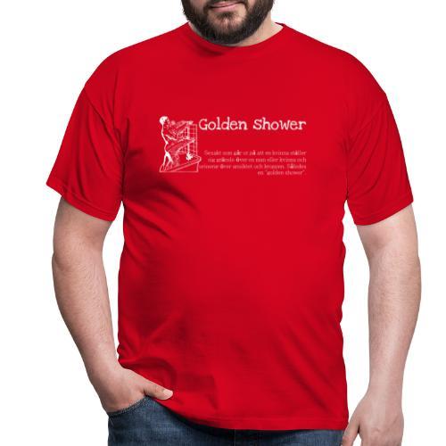 Golden shower - T-shirt herr