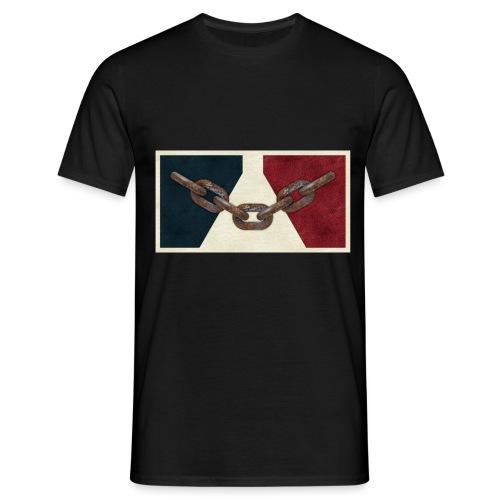 Black County Flag - Men's T-Shirt