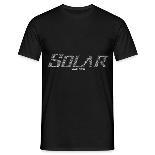 Solar Guitars Textured White - Men's T-Shirt