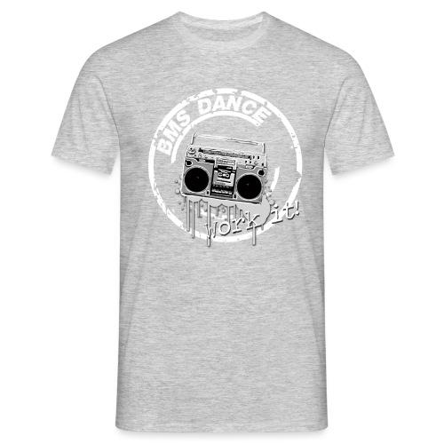 BMS Dance grey - Mannen T-shirt