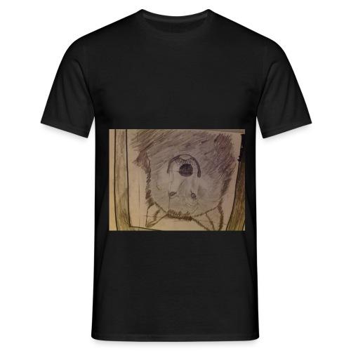 Wolf hoodie etc - Men's T-Shirt