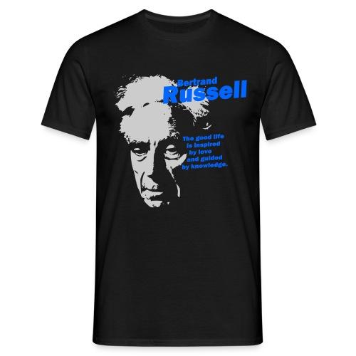 The Good Life Bertrand Russell - Men's T-Shirt