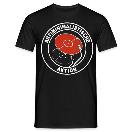 Antiminimalistische Aktion png - Männer T-Shirt