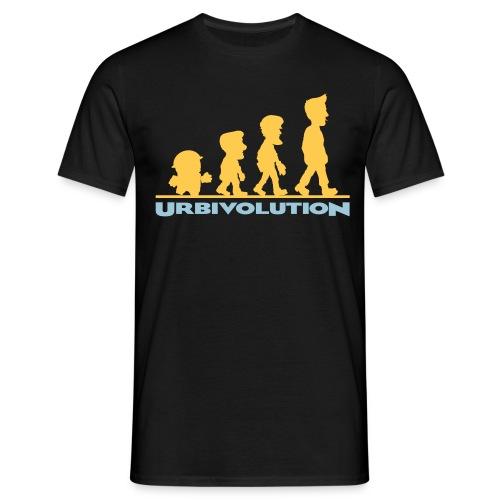 Urbivolution - Männer T-Shirt