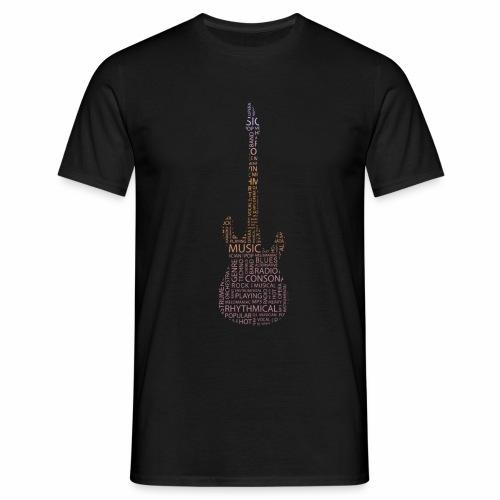 guitarwords - Männer T-Shirt