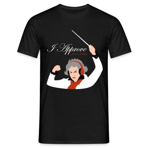 I Approve (White) - T-shirt herr
