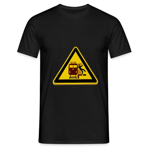 WARNING - Herre-T-shirt