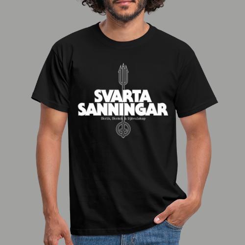 logo white - T-shirt herr