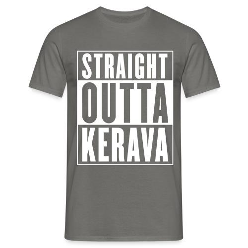Straight outta Kerava - Miesten t-paita