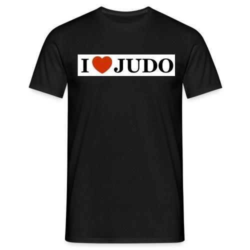I love judo jpg - Maglietta da uomo