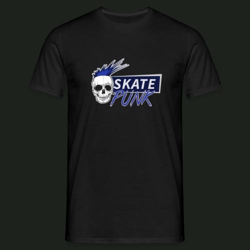 SkatePunk Logo - Men's T-Shirt