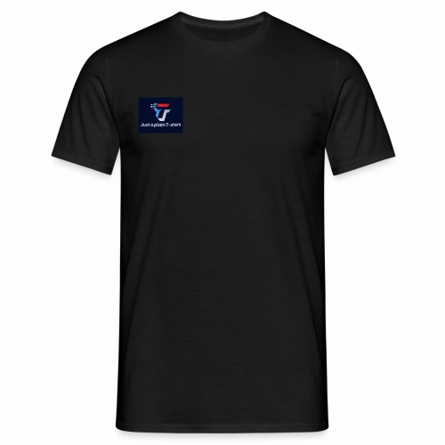 Just a plain T-shirt - Men's T-Shirt