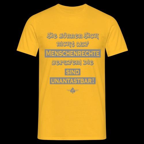 Menschenrechte - Männer T-Shirt