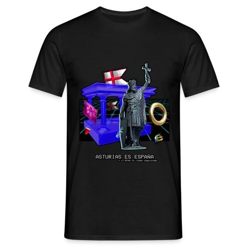 Don Pelayo (Vaporwave) - Camiseta hombre