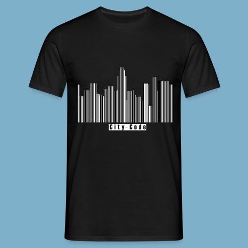 City Code - Deine Stadt - Männer T-Shirt