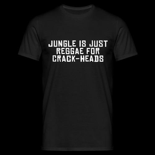 Oxilogik Crack-Heads - Männer T-Shirt