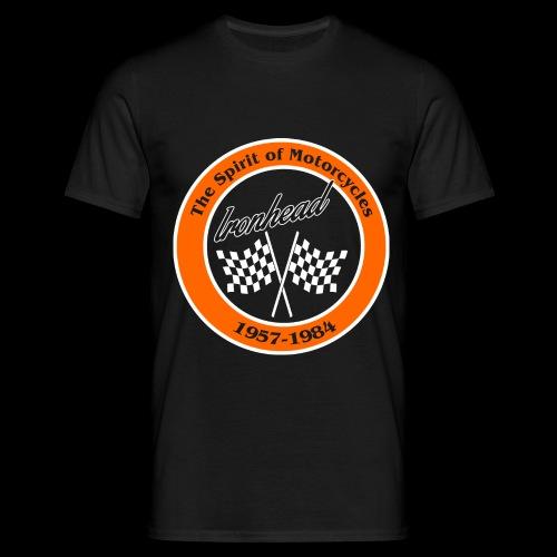 Zielflagge Ironhead - Männer T-Shirt