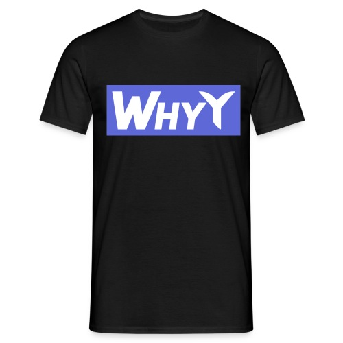 Block Blue | WhyY - Men's T-Shirt