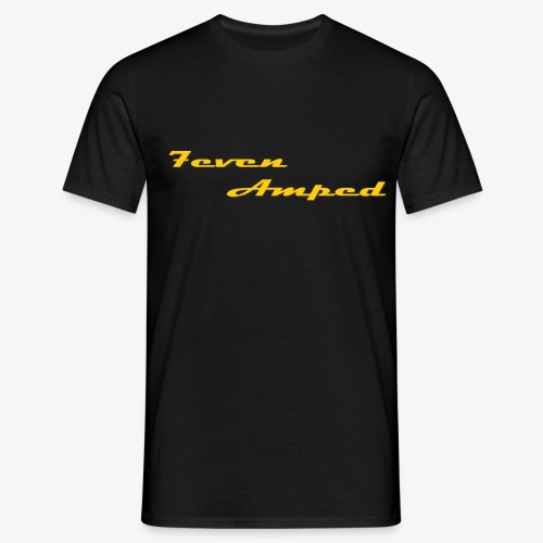 Logo 7even Amped transpar - Männer T-Shirt