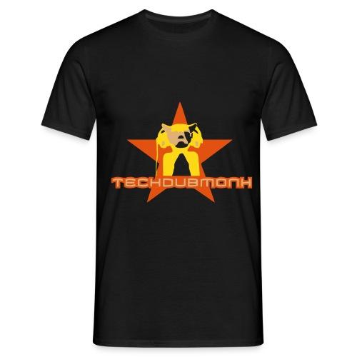 logo techdubmonk - Männer T-Shirt
