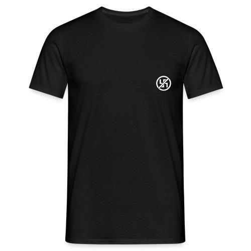ANTIFA-STENCIL-white - T-shirt herr