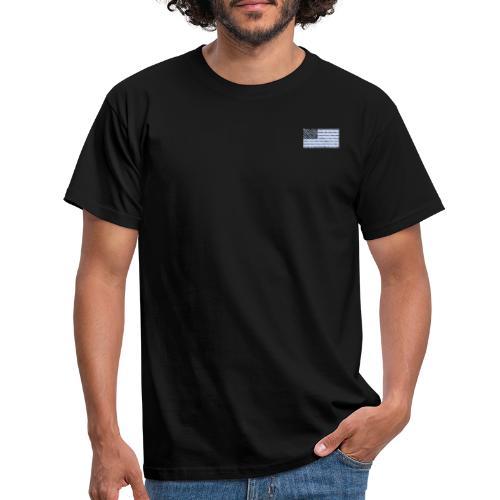 USA-Flagge - Männer T-Shirt