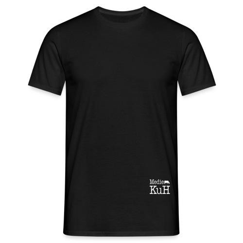 vektor kuh pfade 85x60 - Männer T-Shirt