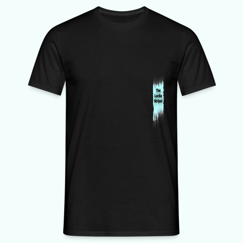 TheLuckaStripeVertikal - Männer T-Shirt