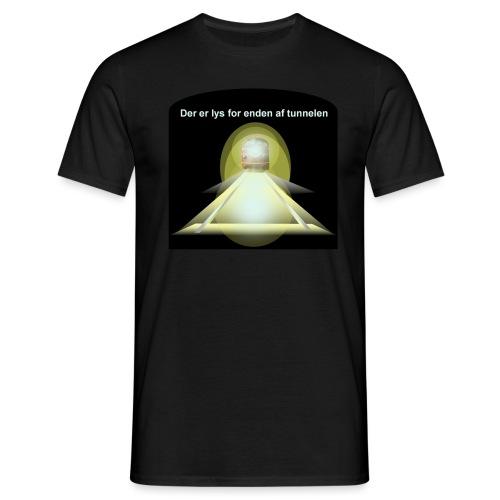 Lys for enden - Herre-T-shirt