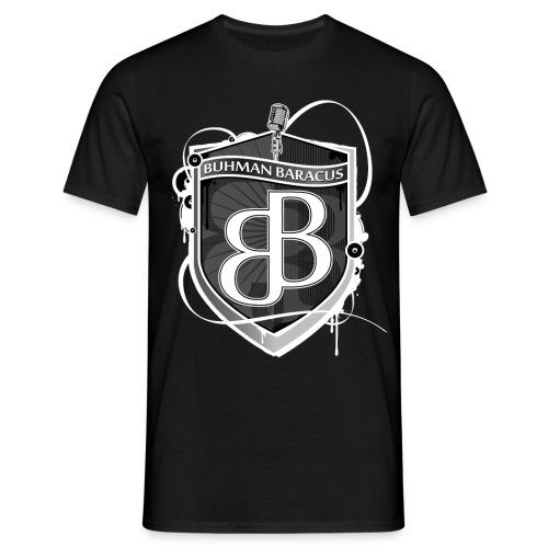 buhman logo inv final - Männer T-Shirt