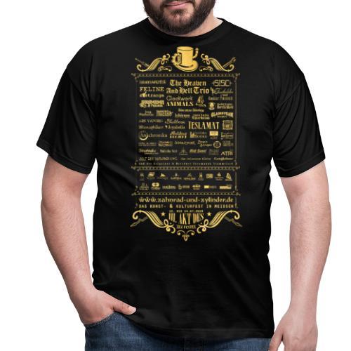 ZuZ 2019 back texture - Männer T-Shirt