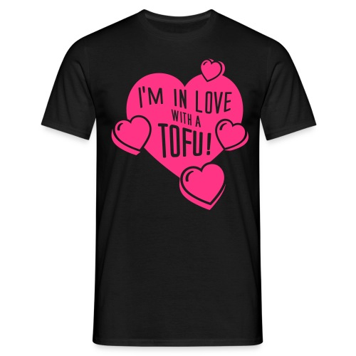 I'm in Love with a TOFU! - tiny - Männer T-Shirt