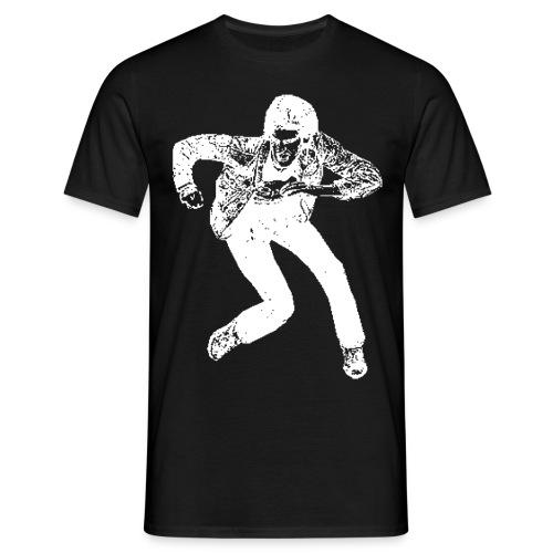 logo_vector_vhite - Men's T-Shirt