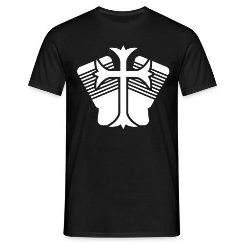 motor_kreuz - Männer T-Shirt