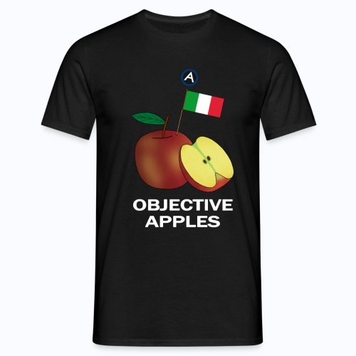 Objective Apples Italy - Men's T-Shirt
