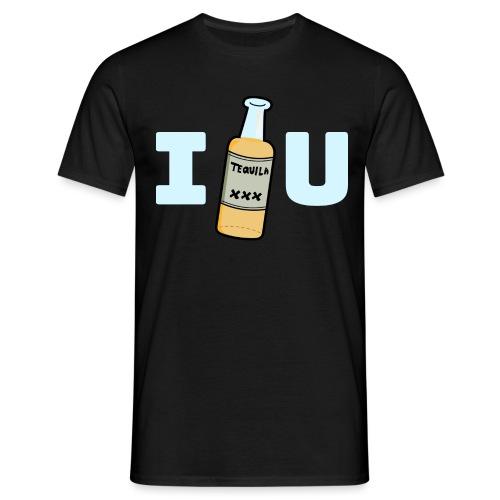 I LOVE TEQUILA T-Shirt - Männer T-Shirt