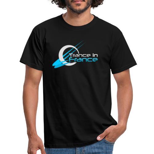 Trance In France Black - Large Logo - T-shirt Homme
