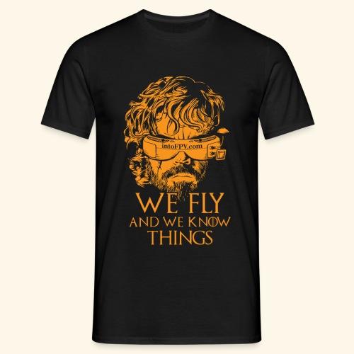 IntoFPV - GOT T-Shirt (Dark Color) - Men's T-Shirt