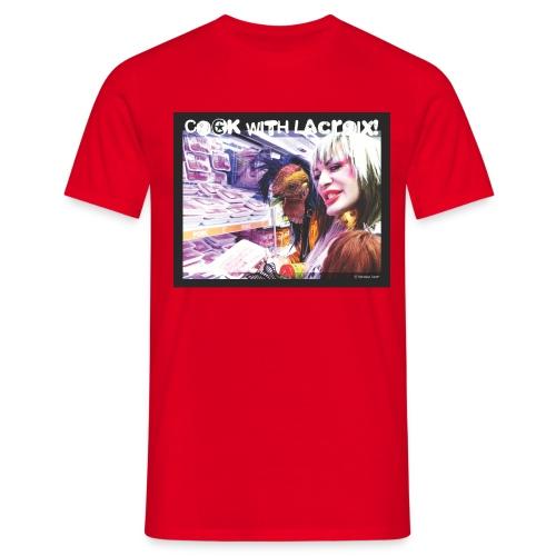 artwork for lacroix jpg - Men's T-Shirt